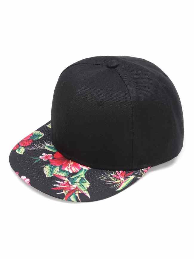 SheIn Flower Print Baseball Cap