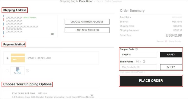 Resultado de imagen de coupon codes for shein