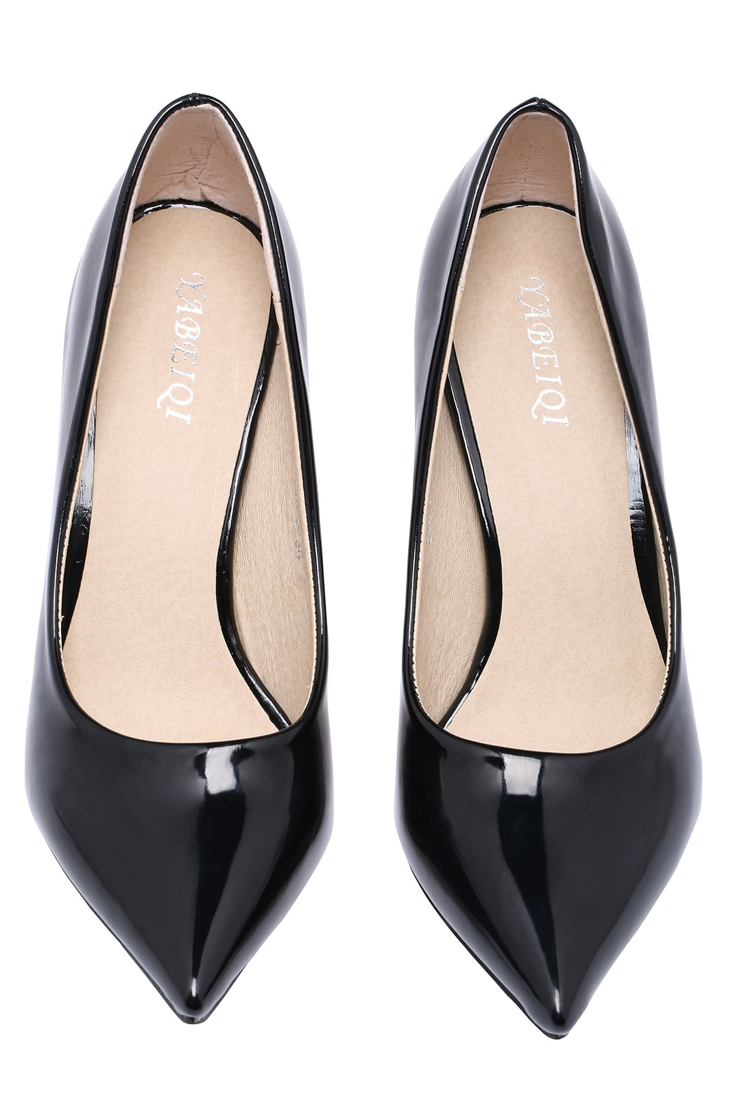 Black High Heel Point Toe Shoes Shein Sheinside