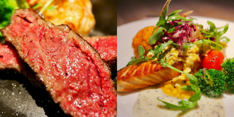 台北艾朋牛排餐酒館 給你超頂級的料理饗宴 Prime美國頂級老饕牛排、爐烤加拿大國王鮭魚,精緻主餐
