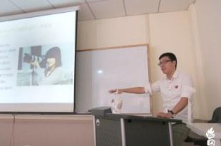 【演講】文化大學大傳系攝影社 攝影業界職場經驗分享 講師:吳鑫
