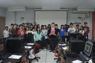 【教學演講】雲林科技大學Photoshop影像編修研習班-課程講師:吳鑫