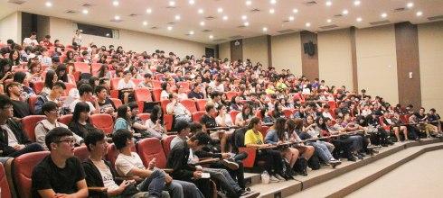 【大學新生入學講座】健行科技大學生涯講座 白日夢冒險王 講師:吳鑫