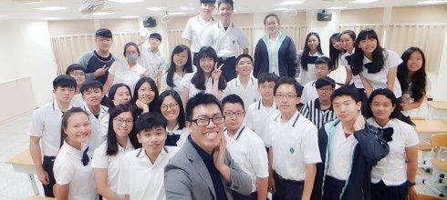 【手機攝影課】雲林維多利亞實驗高中 用手機拍出完美打卡照 講師:吳鑫