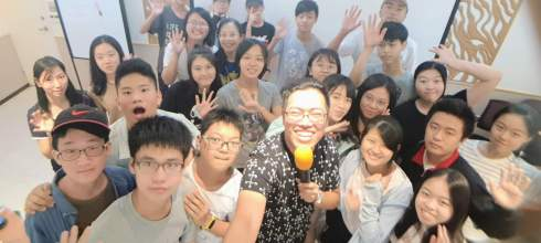 「手機攝影拍片營」臺北市青少年發展處 暑假青年體驗學習營  講師:吳鑫