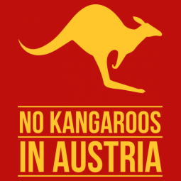 No Kangaroos in Austria T-Shirt