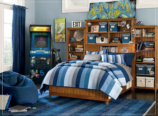 Some Room Ideas For Teenage Boys.