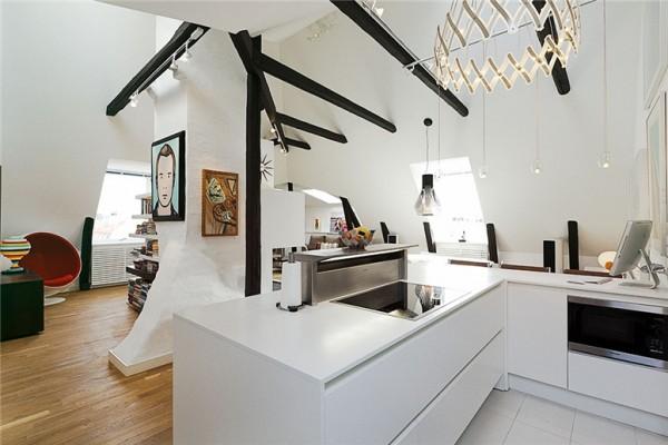Gorgeous Swedish Loft In Stockholm Shockblast