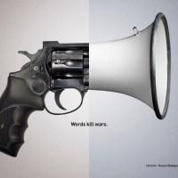 Words Kill Wars Campaign
