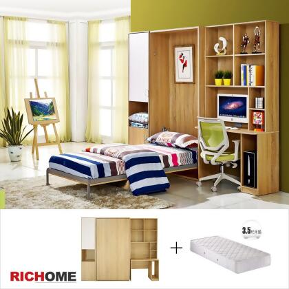 RICHOME-HOME雷吉收納單人床組(附書桌)(含床墊) from friDay購物 at SHOP ...