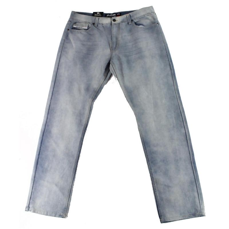 Ecko Unltd. Mens Jeans Light 36X33 Slim Straight Leg Logo from Authentic Designer Fashion at SHOP.COM