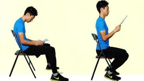 【Accstore】正確的坐姿