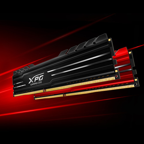 威剛 8G DDR4-3600 XPG D10超頻/CL18(紅色)