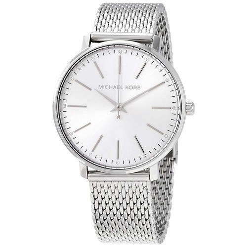 Michael Kors 簡約素面腕錶 不鏽鋼錶帶 正品真貨MK手錶 MK4338