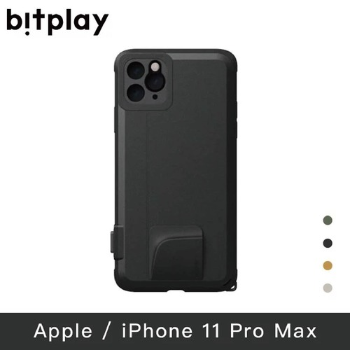【bitplay   SNAP! for iPhone 11Pro Max(6.5吋)手機殼-黑色
