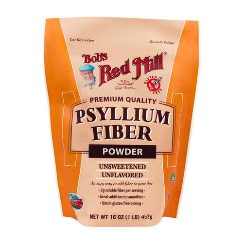 美國 鮑伯紅磨坊 洋車前子粉 453g Bob's Red Mill Psyllium Fiber Powd