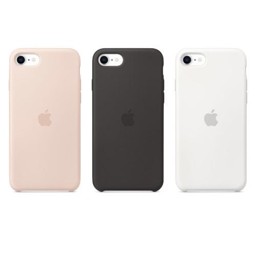 iPhone SE 2 (4.7吋) 矽膠保護殼 三色任選