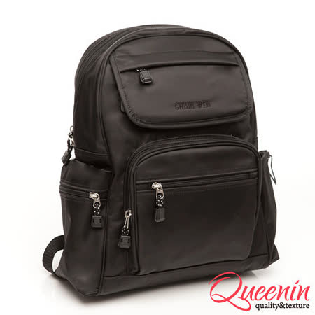 DF Queenin - 臺灣製造都會女性多收納式質感手工後背包|2019年最推薦的品牌都在friDay購物