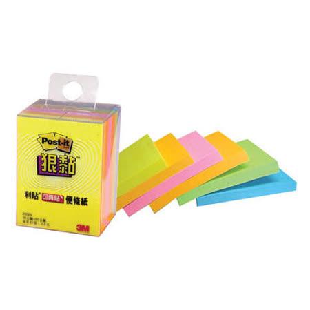 【3M】Post-it 2056S 38x50mm 多色狠黏 便條紙/便利貼/Memo (1盒6本)|2019年最推薦的品牌都在friDay購物