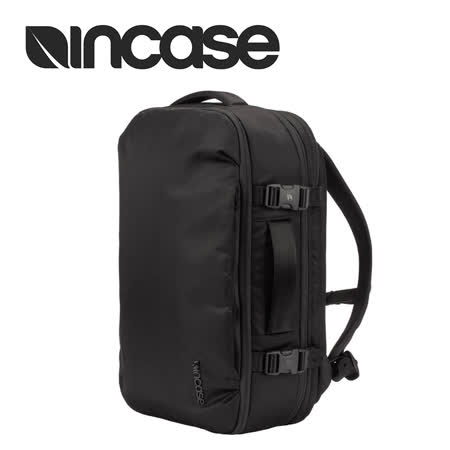 【INCASE】VIA Slim Backpack 15吋 飛行尼龍可擴充筆電旅行後背包 (黑) 2019年最推薦的品牌都在friDay購物