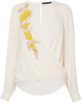 Karen Millen floral blouse