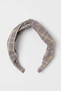 Checked Headband