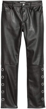 H&M – Faux Leather Pants