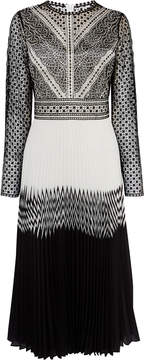 Karen Millen embroidered lace dress