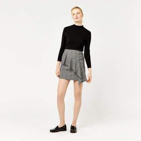 Mono Ruffle Skirt