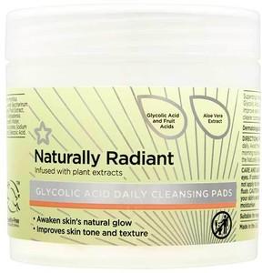 Superdrug Naturally Radiant Glycolic Acid Pads 60
