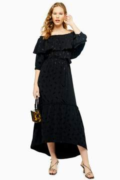 Jacquard Bardot Dress