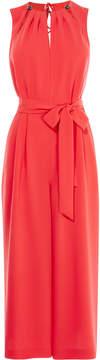 Karen Millen red jumpsuit