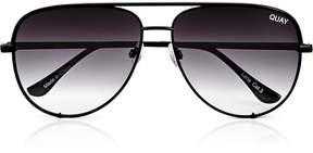 QUAY AUSTRALIA Quay x Desi High Key* Collaboration Aviator Sunglasses- Black