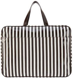 Henri Bendel – Extra Large Carry-All Bag – Brown & White