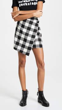 Milly Buffalo Wrap Skirt