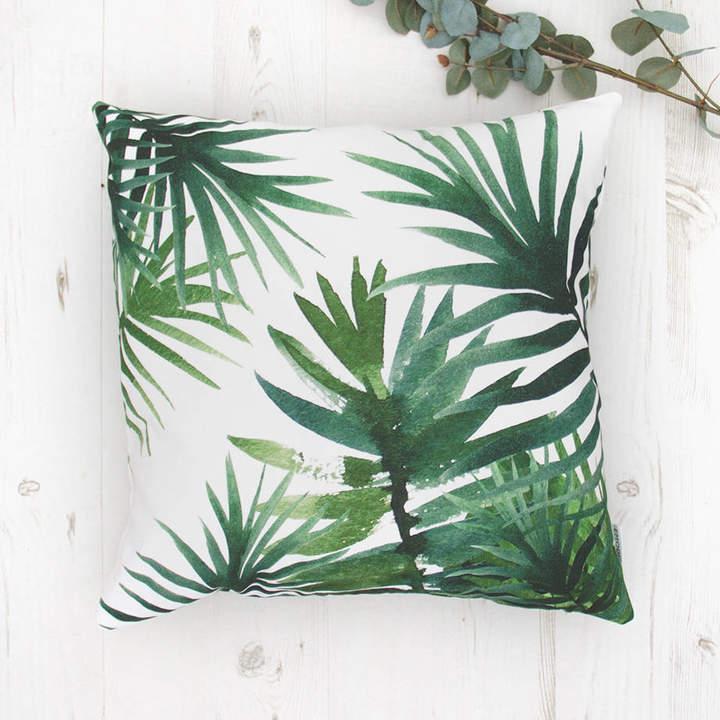 Emodi Green Tropical Cushion