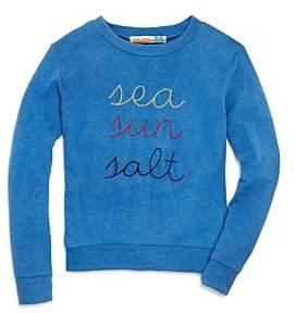Vintage Havana Girls' Sea Sun Salt Sweatshirt - Big Kid