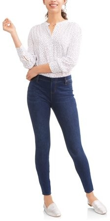 Time And Tru Women's Full Length Soft Knit Color Jegging
