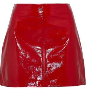W118 By Walter Baker Haley Patent-Leather Mini Skirt