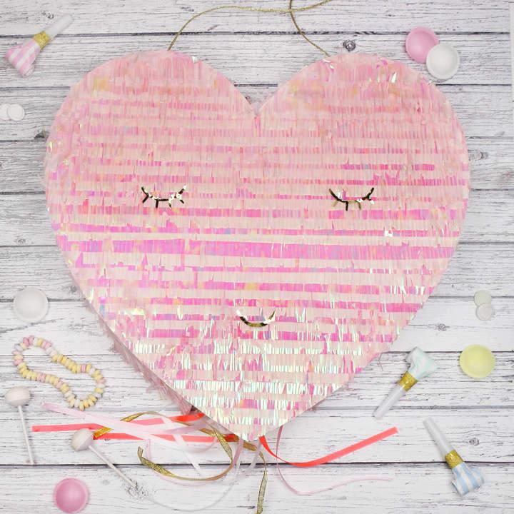 Postbox Party Heart Shaped Party Pinata