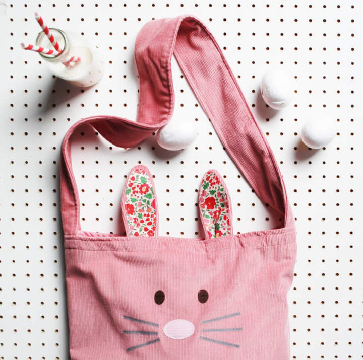 Wild Things Funky Little Dresses Kids Bunny Bag And Ears Set