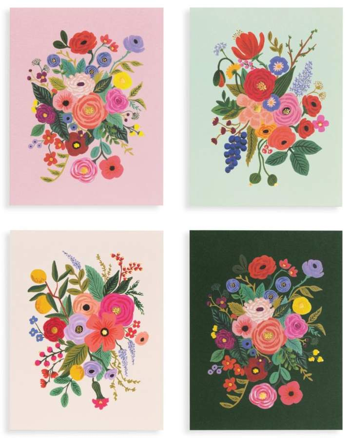 Rifle Paper Co Set of Eight Garden Party Assorted Thank You Cards