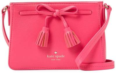 nature-inspired accessories Kate Spade Crossbody Leather Bag