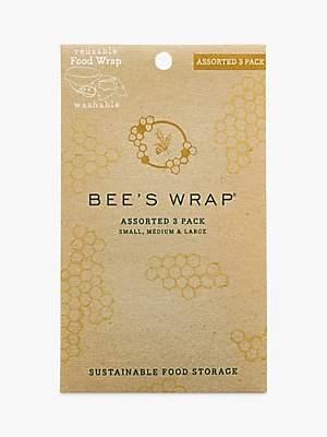 Eddingtons Eddington Bee's Wax Honeycomb Reusable Sandwich Wraps, Assorted, Pack of 3