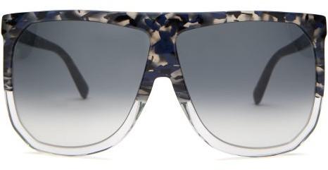 Loewe - Filipa D Frame Sunglasses - Womens - Black
