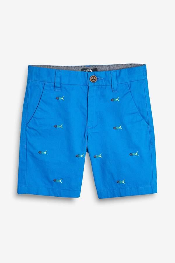 Boys Next Navy Chino Shorts (3-16yrs)