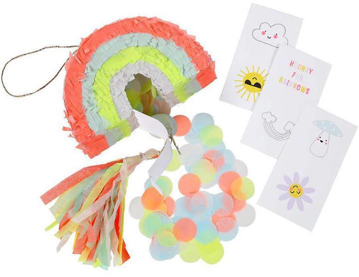 Peach Blossom Mini Rainbow Piñata Party Favours