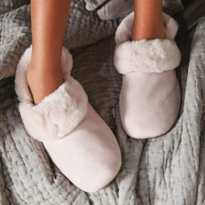 The White Company Cosy Slipper Boots