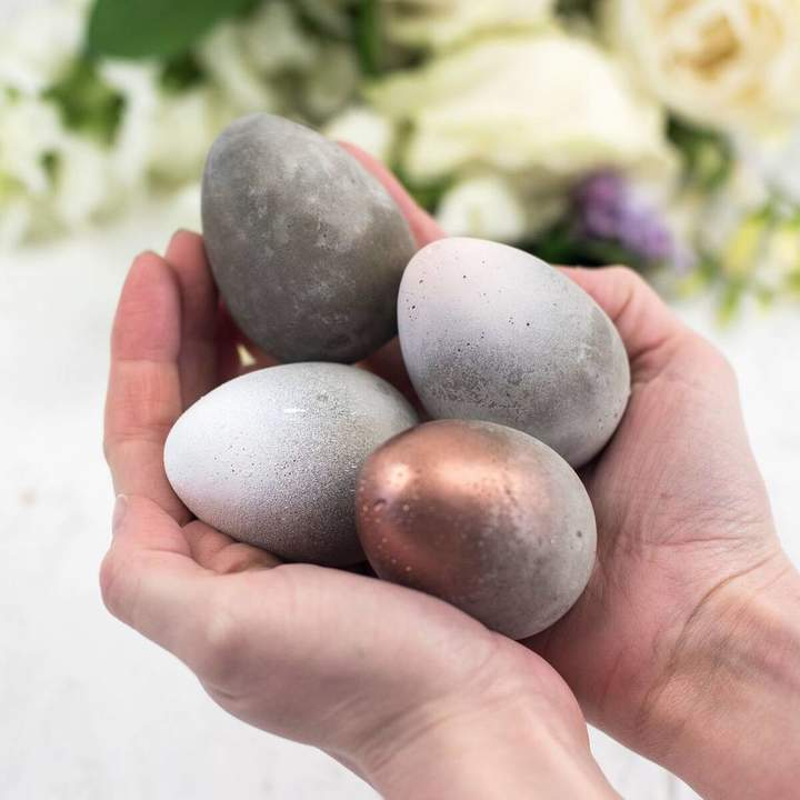 Bells and Whistles Make Concrete Easter Eggs
