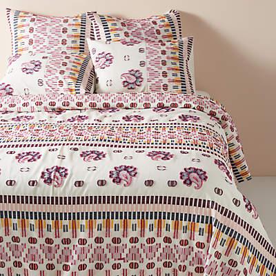 Anthropologie Suno Jacquard Bedding, Multi